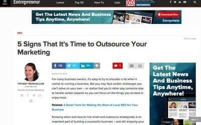 time to outsource your marketing?